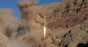 A ballistic missile is launched and tested in an undisclosed location, Iran, March 9, 2016. REUTERS/Mahmood Hosseini/TIMA   ATTENTION EDITORS - THIS IMAGE WAS PROVIDED BY A THIRD PARTY. REUTERS IS UNABLE TO INDEPENDENTLY VERIFY THE AUTHENTICITY, CONTENT, LOCATION OR DATE OF THIS IMAGE. IT IS DISTRIBUTED EXACTLY AS RECEIVED BY REUTERS, AS A SERVICE TO CLIENTS. FOR EDITORIAL USE ONLY. NOT FOR SALE FOR MARKETING OR ADVERTISING CAMPAIGNS. NO THIRD PARTY SALES. NOT FOR USE BY REUTERS THIRD PARTY DISTRIBUTORS. - RTSA0IL